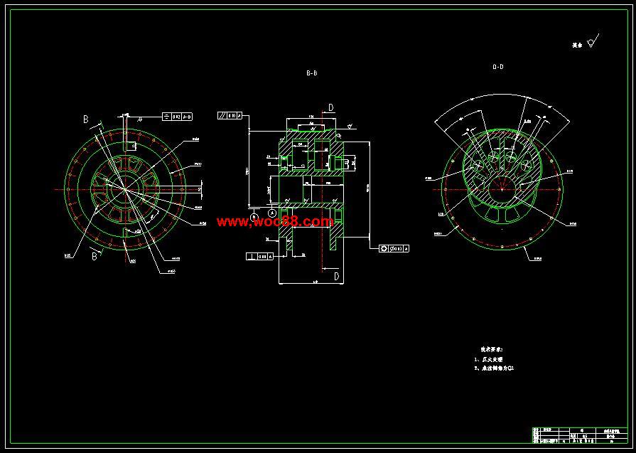 (独家原创)JH31-63机械压力机的设计(全套CAD图纸完整版)CAD截图05