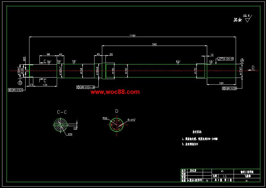 (独家原创)JH31-63机械压力机的设计(全套CAD图纸完整版)CAD截图03