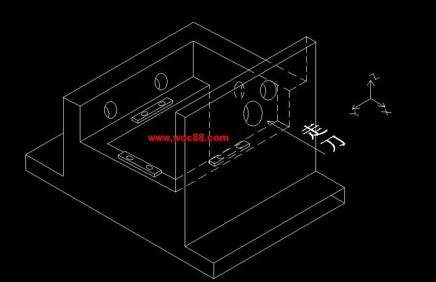 (独家原创)X5020B立式升降台铣床拔叉壳体工艺规程制订设计(全套CAD图纸完整版)CAD截图05
