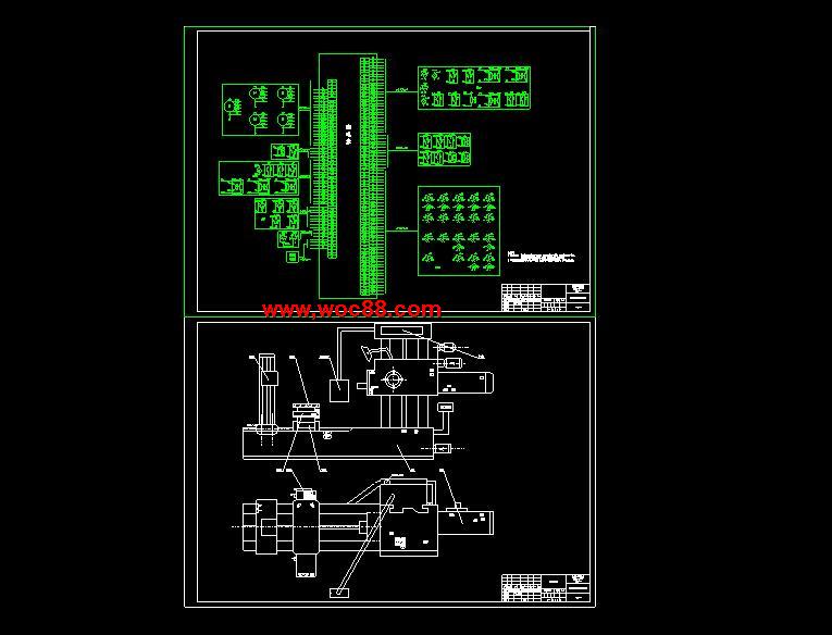 (独家原创)T6113镗床电气控制系统的设计(全套CAD图纸完整版)CAD截图03