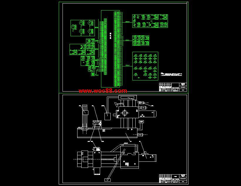 (独家原创)T6113机床控制系统的设计改造PLC设计(全套CAD图纸完整版)CAD截图05