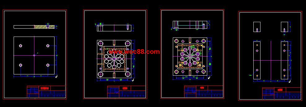 (独家原创)化装品盖设计(全套CAD图纸完整版)CAD截图02