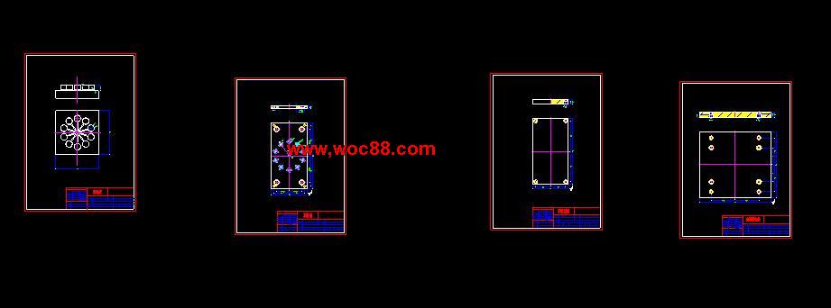 (独家原创)化装品盖设计(全套CAD图纸完整版)CAD截图03